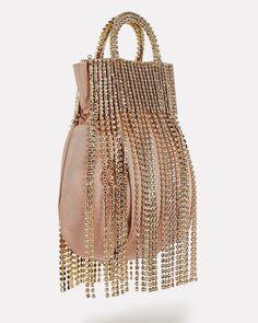 Unique Handbags, Tan Handbags, Purses And Handbags, Beaded Purses, Beaded Bags, Potli Bags, Vintage Bags, Vintage Sewing, Pouch Bag
