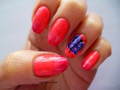 Fife Fantasi Nails : Float like a butterfly...