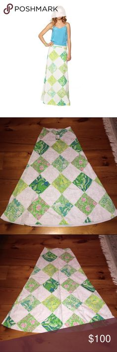"""Lilly Pulitzer maxi skirt ⭐️NWT⭐️ PRICE IS FINAL unless traded! 37"""" in length Lilly Pulitzer Skirts Maxi"""