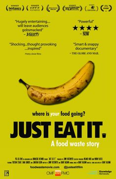 New documentary _Just Eat It_ digs into America's love affair with food waste. #foodwaste #documentary #justeatit