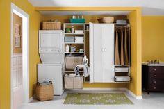 Laundry organization perfect laundry room!