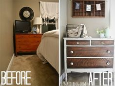 Repurpose Old Furniture - DIY Furniture Makeovers - Good Housekeeping Living room end table