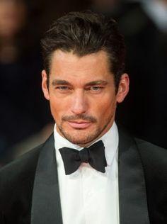 David Gandy, British Academy Film Awards - february 16, 2014