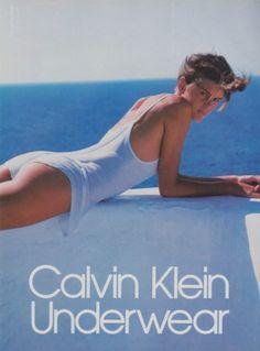 Calvin Klein campaign, 1985 Shot by Bruce Weber