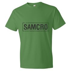 SAMCRO Sons of Anarchy T Shirt