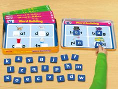 Word Building Magnetic Activity Tin