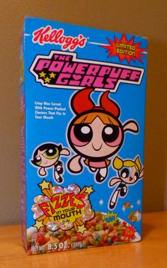 Kellogg's Power Puff Girls Cereal