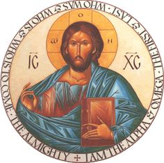 Pantocrator Icon by Heather MacKean http://heathermackean.com/