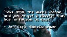 Critics Consensus: Aliens: Colonial Marines (old news I know...but consider it a warning)