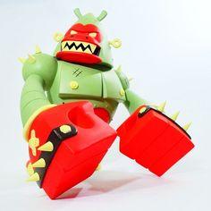 #badasstoy pobber toys x kronk forest edition. Vinyl toy DKE toys