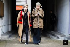 J'ai Perdu Ma Veste / Yixi Chen and Vicky Cheung – Paris  // #Fashion, #FashionBlog, #FashionBlogger, #Ootd, #OutfitOfTheDay, #StreetStyle, #Style