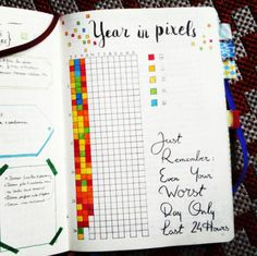 This mood tracker that will show you the ~big picture~ of your year: