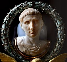"The ""Cameo of Augustus."" Carver agate. Beginning of the 1st cent. CE. H. 14 cm. Paris, Louvre Museum"