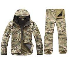 Kryptek Jacket/ Battle Snake Jacket Coat Kryptek Ripstop Jacket Outdoor Hunting Uniforms Smart Typhon Combat Jacket