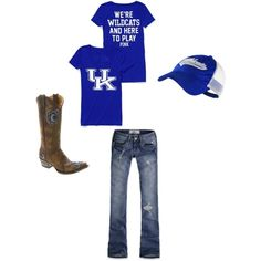 Kentucky girl.     Toooootally want this outfit!