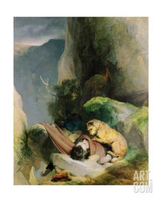 Attachment, 1829 Giclee Print by Edwin Henry Landseer at Art.com