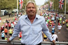 CEO of Virgin reveals his favorite locations in a mobile travel app.
