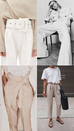 4 workwear outfit ideas and a whole load of inspo. The fashion trends you can wear to work and how to style them to make them office appropriate Womens Fashion For Work, Work Fashion, Latest Fashion For Women, Urban Fashion, Fashion Black, Street Fashion, Petite Fashion, Curvy Fashion, Fall Fashion