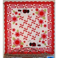 Little Lady by Chitter Chatter Designs. What a darling quilt!