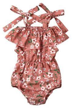 4debb7a826d4 Floral Strap Romper. Zara BabyToddler OutfitsKids ...