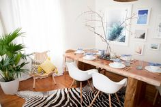 See more images from before & after: we found your dream dining room on domino.com
