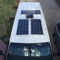 Van Life - Our Amazing Stealth Solar Power Set up! Off Grid Camper Van Bus Life, Camper Life, Camper Van, Motorhome, Van Dwelling, Van Home, Vanz, Living On The Road, In Natura