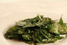 Crispy Baked Spinach  in HCG Phase 2 Recipes, Vegetable HCG Diet Recipes