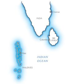 Map of Maldives Maps travel holiday  Geographical Maps