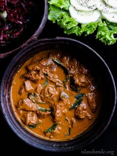 Sri Lankan beef curry, there's a reason why I think my grandmother makes the best beef curry, it's all about slow cooking the beef in spices and coconut milk giving it the most delicious texture and taste.