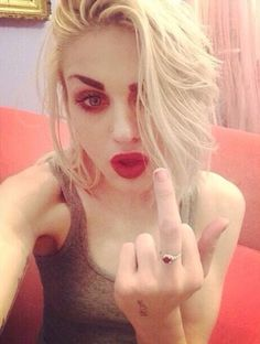 Frances Bean Cobain❤