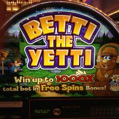 betti the yetti slot machine
