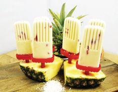 Piña Colada Popsicles [Vegan] -- 34 different dairy-free ice cream recipes!!!