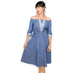 Curator - SAVANNAH DRESS, $154.00 (http://www.curatorsf.com/savannah-dress/)