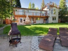 Tahoe Keys House Rental: Water Front Home Home/private Boat Dock/3 Spas/game Room 60 ' Tv Bbq   HomeAway