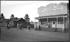 FOTOGRAFIAS DE GERTRUDE FITZGERALD  JOCKEY CLUB/ EN EL BARRIO AMERICANO EN MADERA, CHIH
