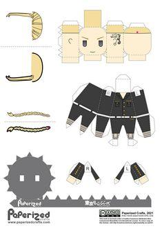 Draken Tokyo Revengers Papercraft