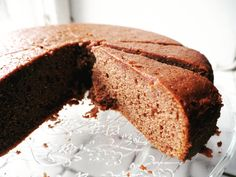 Gluten Free Thursday: Moist And Light Chocolate Cake With Rice Flour Healthy Cake Recipes, Cake Mix Recipes, Diet Recipes, Gluten Free Cakes, Gluten Free Baking, Recipes Using Rice Flour, Sugar Free Rice, Rice Flour Cookies, Quinoa Cake