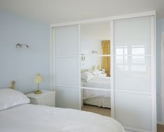 Sliding Door Wardrobes Kent, Fitted Wardrobes, Made to Measure - Tap the pin if you love super heroes too! Cause guess what? you will LOVE these super hero fitness shirts! White Sliding Wardrobe, Glass Wardrobe Doors, Bedroom Closet Doors, Wardrobe Design Bedroom, Bedroom Cupboards, Built In Wardrobe, Fitted Sliding Wardrobes, Glass Doors, Sliding Cupboard