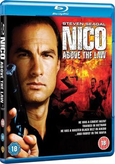 NICO / ABOVE THE LAW BLU-RAY DISC w/ STEVEN SEAGAL & PAM GRIER & SHARON STONE