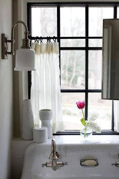 181 best bathroom window curtains images in 2019 rh pinterest com