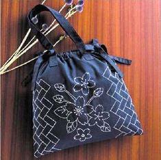 Sashiko Kit - Handbag # 256