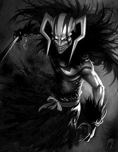Bleach Anime Art, Bleach Fanart, Bleach Manga, Manga Anime, Anime Demon, Anime Guys, Ichigo Hollow Mask, Bleach Ichigo Hollow, Gogeta Ss4