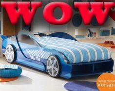 Yeah, but it's a f-ing sweet car bed! Big Boy Bedrooms, Baby Boy Rooms, Kids Bedroom, Boys Room Design, Boys Room Decor, Corner Sofa Design, Bed Design, Kids Car Bed, Bunk Bed With Slide