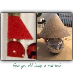 Give you old lamp, a new and nice look.