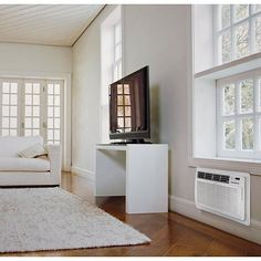 LG 11,500 BTU Dehumidifying Through-the-Wall 115-Volt Air Conditioner with Remote Control - White