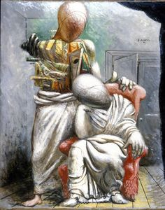 Giorgio de Chirico - The poet and his muse