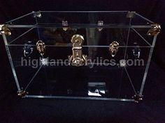 Acrylic Trunk Coffee Table Highland Crafts and Acrylics https://www.amazon.com/dp/B01N9O9YRT/ref=cm_sw_r_pi_dp_x_7kOCybM6TEC2J