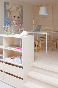 Office and Home Office Decorating Ideas by Pipa Interior Inspiration, Room Inspiration, Timy Houses, Home And Living, Home And Family, Interior Architecture, Interior Design, Home Office Decor, Home Decor
