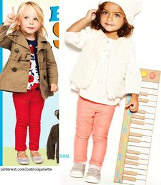 Old Navy outfit (Left), Baby Gap Outfit (Right)...Adorable