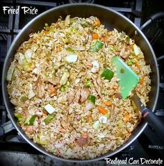 Healthy Fried Rice Recipe-way better than restaurant!